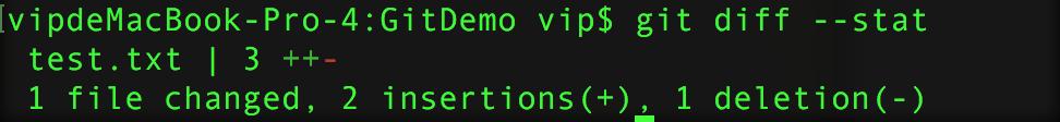Git命令集之七——差异查询命令