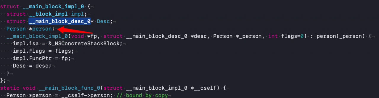 iOS底层原理总结探寻block本质(二)