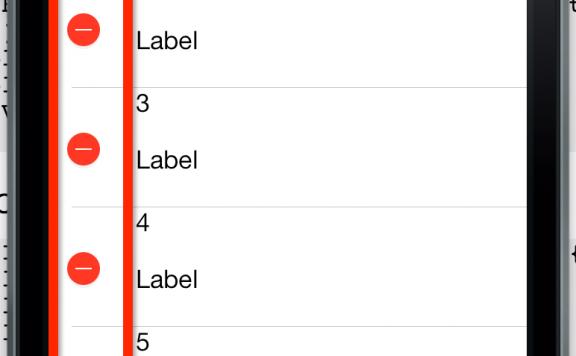 IOS UITableViewCell隐藏删除按钮和设置删除按钮的标题