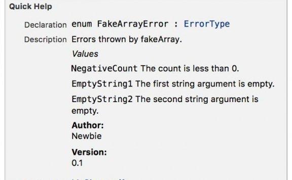 iOS  官方 Swift API 设计规范