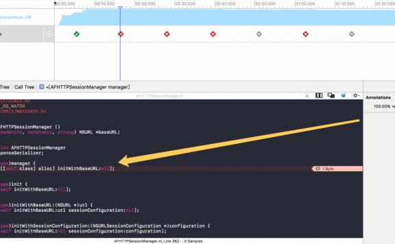 iOS开发AFnetworking的内存泄漏问题