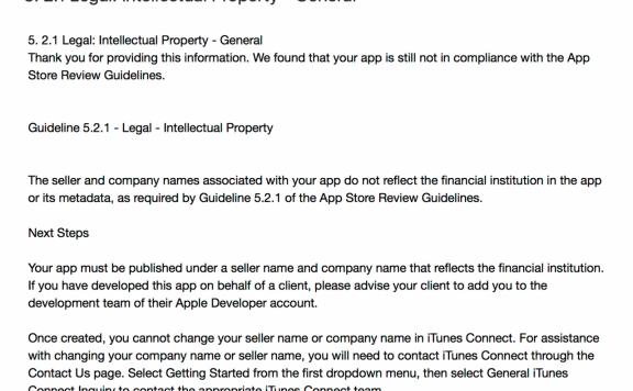 5. 2.1 Legal: Intellectual Property – General